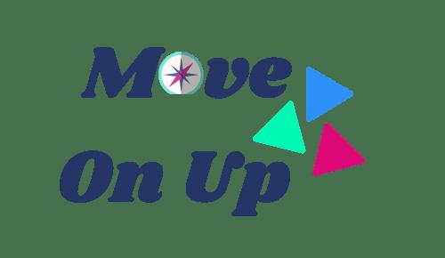 Logo Move On Up Bleu Transparent